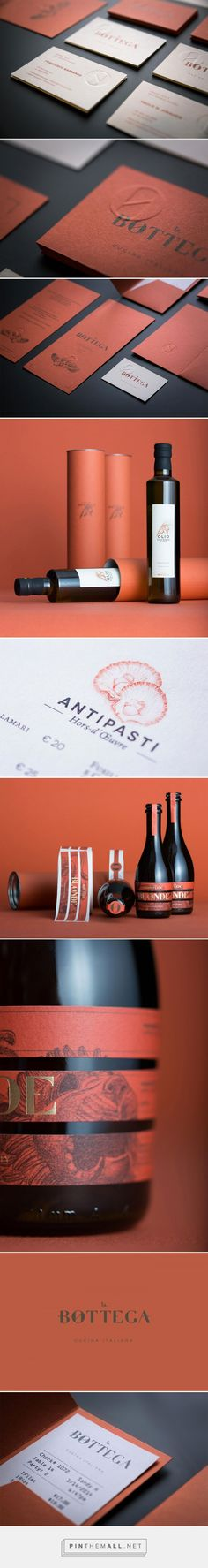 La Bottega restaurant visual identity, designed by Kidstudio | Identity Designed