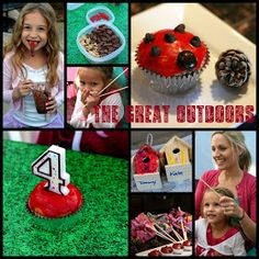 The TomKat Studio: Birthday Party: The Great Outdoors - Camping