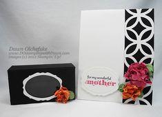 lattice flower card