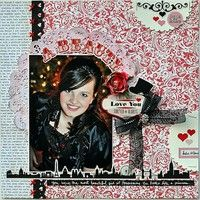 A Project by gumpgirl from our Scrapbooking Gallery originally submitted 02/07/12 at 07:59 AM