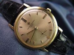Vintage Men's Vacheron Constantin Manual Dress Watch 18k Gold Ref 6405 #1901