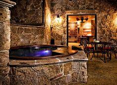 Exotic Spa Bathtub for Bathroom Interior Design and Decoration ...