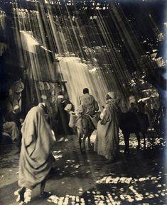 Morocco, to Marrakech. Circa 1950, photographer?