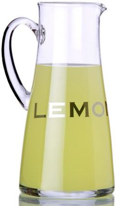 Lemon Pitcher http://thetrendykitchen.com/item_341/Lemon-Pitcher.htm