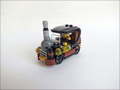 Steampunk Machine - LEGO City Car 3177 - SteamPunk Edition :)