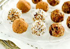 Raw Food Recipes: CinnamonTruffles