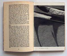 Hellmut Lantschner: Spuren zum Kampf.  Rowohlt Verlag GmbH, Berlin, 1936. Printer: Leipziger Verlagsdruckerei AG. vorm. Fischer & Kürsten. Size: 22 x 15 cm. Designer: Herbert Bayer.