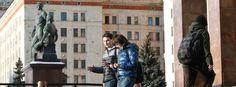 """Studenten an der Uni Moskau: Mit der """"Ersten Abteilung"""" sprechen"""