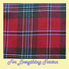 MacLean Of Duart Tartan Polyviscose Plaid Fabric Swatch  by JMB7339 - $20.00