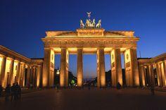 Porta di Brandeburgo Berlino, Marzo 2012