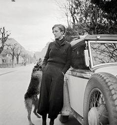 Annemarie Schwarzenbach by Marianne Breslauer, c. 1932
