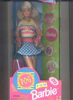 Barbie 1994 Toys R US POG Collection Barbie Doll