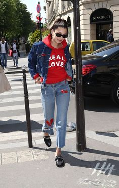 Bella Hadid Out in Paris 04/21/2017
