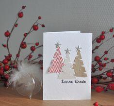3 in 1 das neue Sammelalbum von Christine B. Christmas Tree Cards, Xmas Cards, Christmas Art, Holiday Cards, Christmas Decorations, Hand Made Greeting Cards, Making Greeting Cards, Christmas Activities For Kids, Theme Noel
