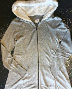 Cashmere, faux fur hoodie