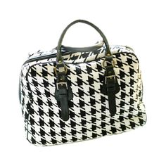 Houndstooth Bag