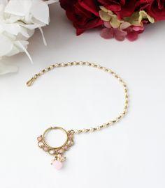 Nose Ring Stud, Nose Rings, Jewellery, Pearls, Stone, Metal, Bracelets, Gold, Bangle Bracelets
