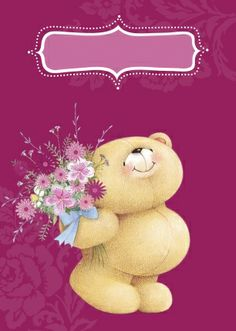 ♥ Forever Friends | Bear Card ♥ also found on http://wenskaarten.primera.nl/kaarten/collectie/Forever%2BFriends?order=since&direction=desc&offset=7