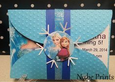 handmade Frozen birthday invitation by nubeprints on Etsy, $22.50