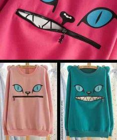 Cat Sweatshirts I Must Buy One