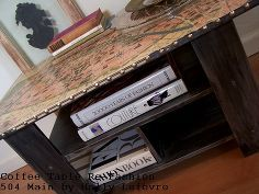 mdf coffee table to parisian chic accent table, design d cor, furniture furniture revivals