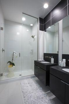 Copley Square - Thornton by Cecconi Simone (Black and White Bathroom)
