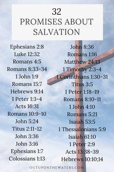 God's promises about salvation #biblestudy