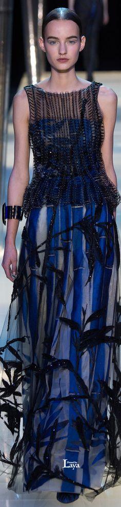 Armani Privé* Spring 2015 Couture