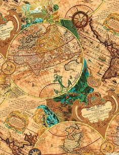 Travel Background Map Products 26 Ideas For 2019 Vintage Diy, Vintage Travel, Vintage Prints, Vintage World Maps, Decoupage Printables, Printable Scrapbook Paper, Kunstjournal Inspiration, Art Journal Inspiration, Old Maps