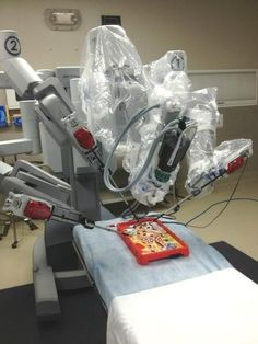 Clearly, this is the best test of robotic surgery equipment.