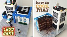 Lego City Police Station Cake : How To Cook That w/ Ann Reardon - YouTube - 24 Jul 2015