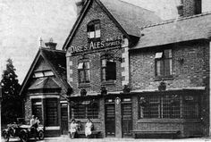 Kidderminster Road, Park Gate Inn, c 1920