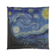 Starry Night Queen Comforter, Vincent Van Gogh