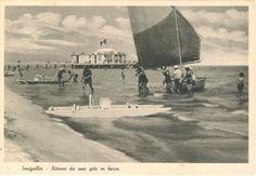 Ritorno da una gita in barca .Spiaggia di velluto .Senigallia. Marche.  (Dal sito quattrobaj.com)