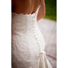 Floor Length Strapless Sweetheart Simple Lace Mermaid Wedding Dress Wedding Dresses