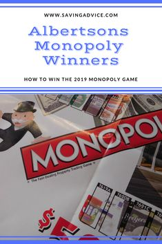 graphic about Albertsons Monopoly Game Board Printable titled 15 Perfect Albertsons Monopoly 2019 illustrations or photos Activity areas