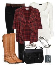 """""""Countryside"""" by deliag ❤ liked on Polyvore featuring H&M, JunaRose, Longchamp, BareTraps, Warehouse, Essie and country"""