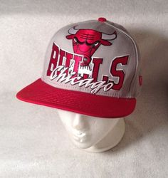 6c3b3ace856 NWOT New Era Chicago Bulls Snapback Hat NBA ONLY 1 ON EBAY raised print  9FIFTY  NewEra  ChicagoBulls