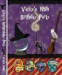 Harry Potter Album Cover/Birthday Card - Scrapbook.com