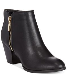Style&co. Jamila Zip Booties, Only at Macy's - Boots - Shoes - Macy's