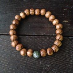 Men's Sandalwood Bead Mala bracelet Mala Bracelet
