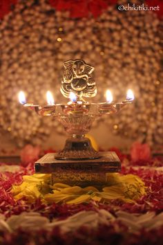 Ganesh Silver lamp- Diwali Decoration Ganesh Wallpaper, Lord Shiva Hd Wallpaper, Lord Krishna Wallpapers, Jai Ganesh, Ganesh Lord, Ganesha Art, Ganesha Pictures, Ganesh Images, Ganesh Bhagwan