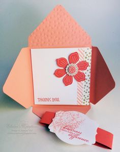 Stampin' Up! Blooming with Kindness for You Envelope Card Elaine's Creations