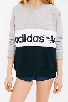 adidas Originals City Sweatshirt - Urban Outfitters 55.00