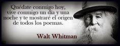Tal día como hoy, pero en en 1892, muere Walt Whitman
