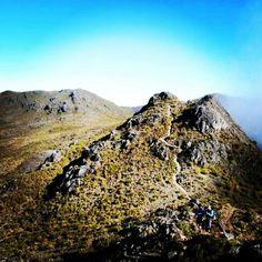 Sendero hacia Cerro Ventisqueros