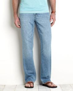 Shop for designer mens jeans and slacks at Tommy Bahama. Find premium denim mens styles from straight leg to classic fit and much more. S Man, Tommy Bahama, Slacks, Bell Bottom Jeans, Slip On, Mens Fashion, Denim, Better Half, Kisses