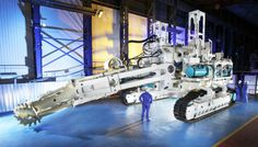 Mining the Ocean floor - Photos of the Nautilus underwater remote controlled mining Robot