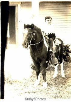 Electronics, Cars, Fashion, Collectibles, Coupons and Little Boy Poses, Little Boys, Vintage Children Photos, Vintage Pictures, Cowboy Girl Outfits, Farm Kids, Pony Rides, Pony Horse, Vintage Horse