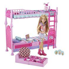 Barbie Sisters Sleeptime Bedroom and Stacie Doll Set